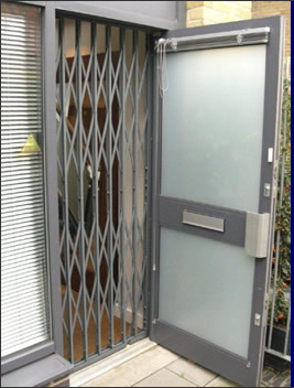 Retractable Grille Or Retractable Gate Supplied And Fitted