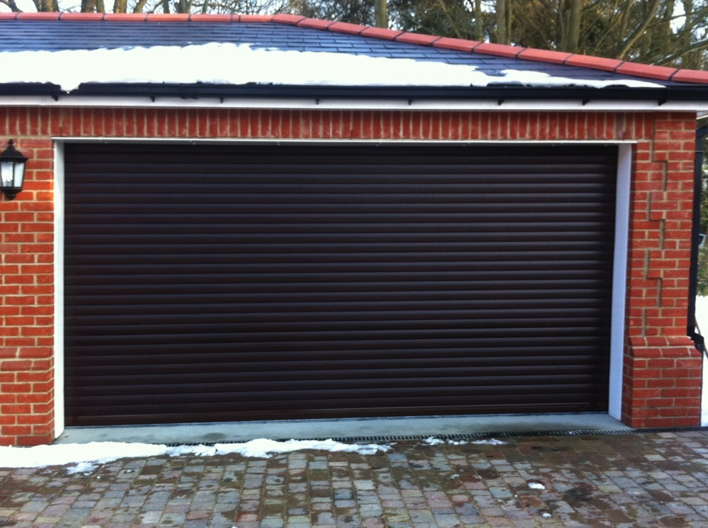 Roller Garage Doors From Brown Security Installations