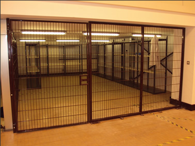Steel Cages Available From Brown Security Installations